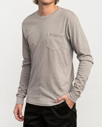 2 PTC Pigment Long Sleeve T-Shirt Multicolor ML921PPL RVCA