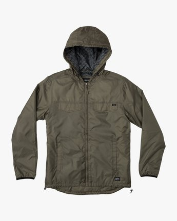 0 Tracer Jacket Green MM702TRA RVCA