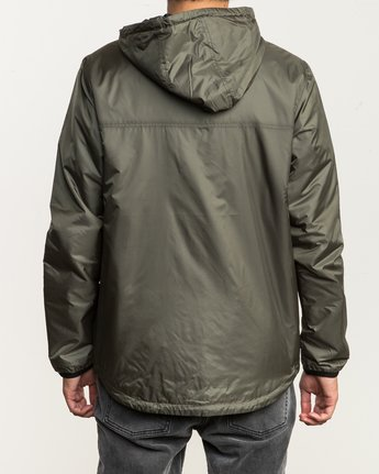 5 Tracer Jacket Green MM702TRA RVCA