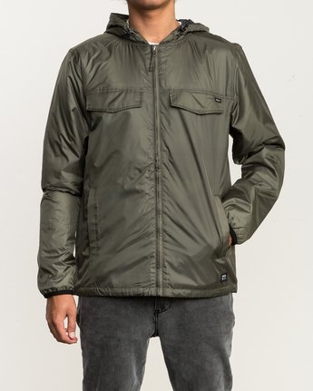 1 Tracer Jacket Green MM702TRA RVCA