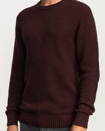 4 Dispatch Knit Sweater Red MV01QRDS RVCA