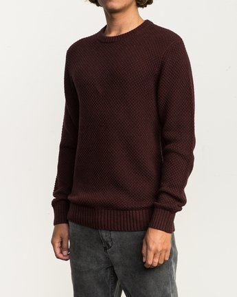 2 Dispatch Knit Sweater Red MV01QRDS RVCA