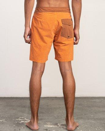 4 Mowgli Mosaic Trunk Orange N1BSRGRVP9 RVCA