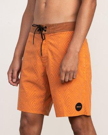 7 Mowgli Mosaic Trunk Orange N1BSRGRVP9 RVCA