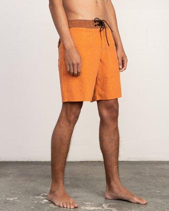 6 Mowgli Mosaic Trunk Orange N1BSRGRVP9 RVCA