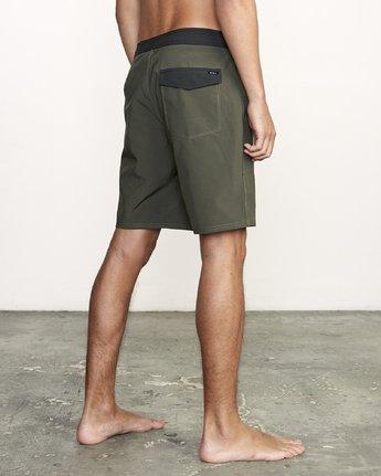"5 VA Trunk 19"" - Board Shorts for Men Green N1BSRIRVP9 RVCA"