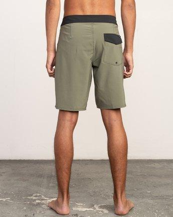 "4 VA Trunk 19"" - Board Shorts for Men Brown N1BSRIRVP9 RVCA"