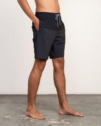 "6 Curren Caples Trunk - Boardshort 18"" pour Homme Noir N1BSRPRVP9 RVCA"