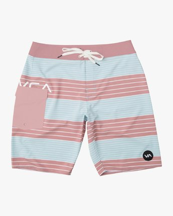 "Uncivil Stripe Trunk - 20"" Boardshorts for Men  N1BSRQRVP9"