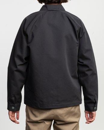 4 Gerrard Waist Cut Jacket Black N1JKRCRVP9 RVCA