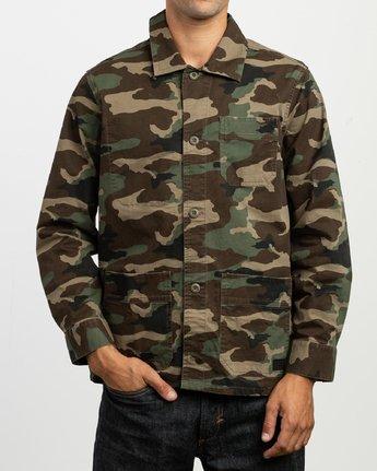 1 Couleur Chore Coat Camo N1JKRFRVP9 RVCA