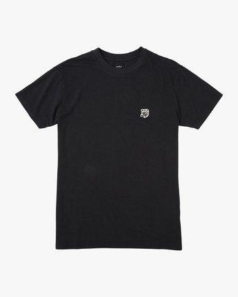 0 Stress T-Shirt Black N1KTRGRVP9 RVCA