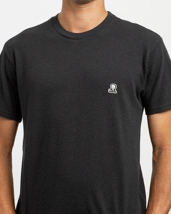 4 Stress T-Shirt Black N1KTRGRVP9 RVCA