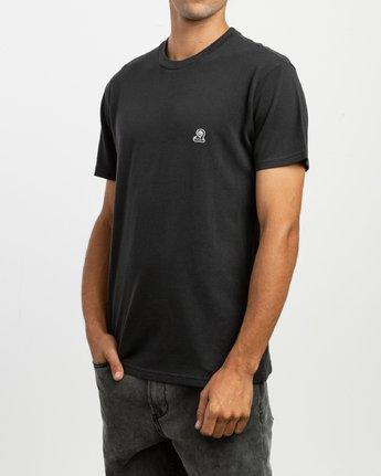 2 Stress T-Shirt Black N1KTRGRVP9 RVCA
