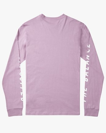 1 Mai Thai - Long Sleeves T-Shirt for Men Purple N1LSRBRVP9 RVCA