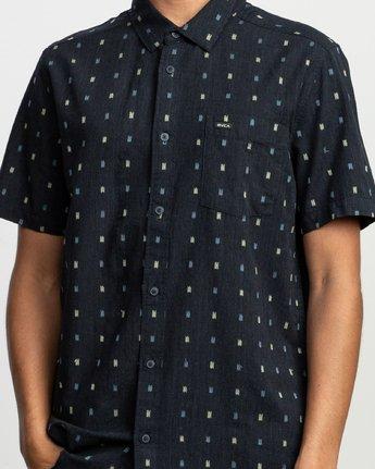 4 Aye Kat SS T-Shirt Blue N1SHRERVP9 RVCA