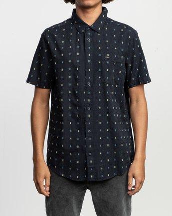 1 Aye Kat SS T-Shirt Blue N1SHRERVP9 RVCA