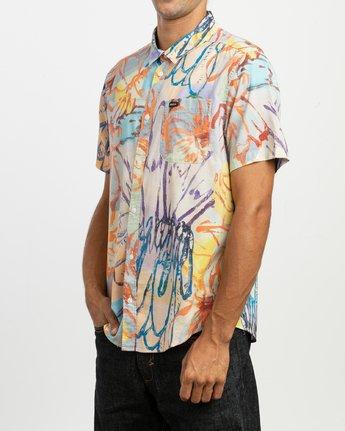 2 Sage Vaughn Floral - Chemise à manches courtes pour Homme  N1SHRHRVP9 RVCA