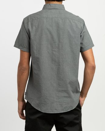 3 Dmote ANP Twist - Short Sleeves Shirt for Men Black N1SHRKRVP9 RVCA