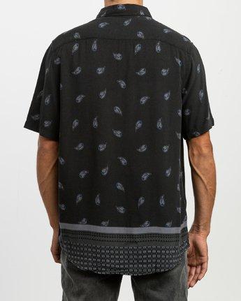 3 Lux SS Shirt Black N1SHRRRVP9 RVCA
