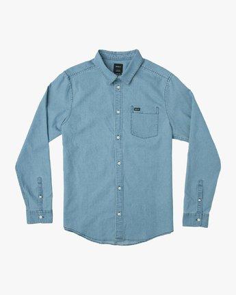 Nakama - Long Sleeves Denim Shirt for Men  N1SHRTRVP9