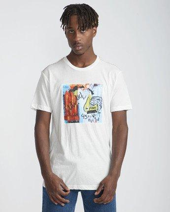 2 Daybreak SS T-Shirt White N1SSRBRVP9 RVCA