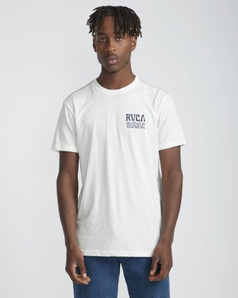 2 Daybreak - Short Sleeves T-Shirt for Men White N1SSRBRVP9 RVCA
