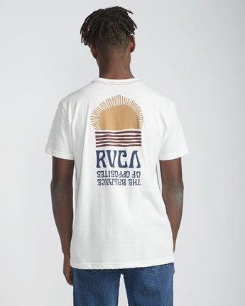 3 Daybreak - Short Sleeves T-Shirt for Men White N1SSRBRVP9 RVCA