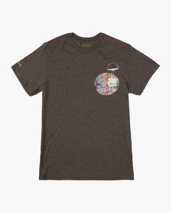1 Vaughn SS T-Shirt Black N1SSRDRVP9 RVCA