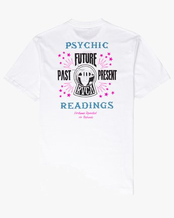 1 Psychic SS T-Shirt White N1SSRERVP9 RVCA