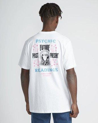 3 Psychic SS T-Shirt White N1SSRERVP9 RVCA