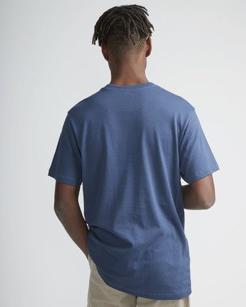3 Blinded - Short Sleeves T-Shirt for Men Blue N1SSRJRVP9 RVCA