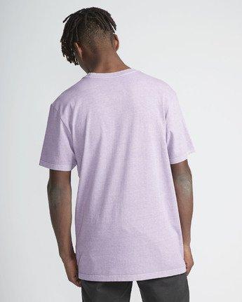 3 Big Rvca SS T-Shirt Purple N1SSRKRVP9 RVCA