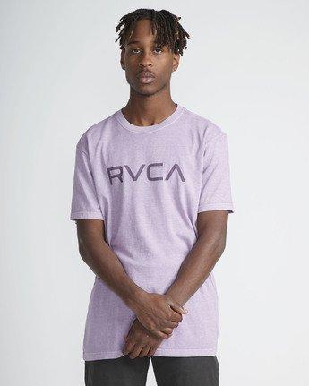 2 Big Rvca SS T-Shirt Purple N1SSRKRVP9 RVCA