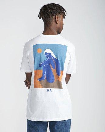 3 Intense Desert SS T-Shirt White N1SSRWRVP9 RVCA