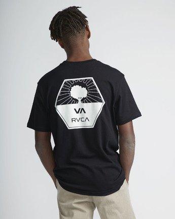 3 Stealth Irons SS T-Shirt Black N1SSSARVP9 RVCA