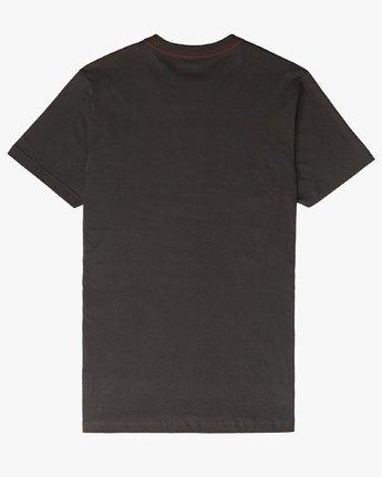 1 Faces SS T-Shirt Black N1SSSERVP9 RVCA