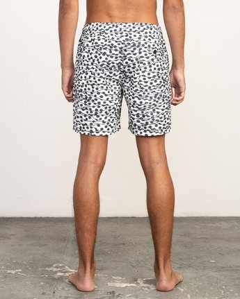 "4 Tom Gerrard Dots - 17"" Boardshorts for Men White N1VORARVP9 RVCA"