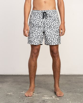 "1 Tom Gerrard Dots - 17"" Boardshorts for Men White N1VORARVP9 RVCA"