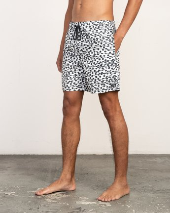 "2 Tom Gerrard Dots - 17"" Boardshorts for Men White N1VORARVP9 RVCA"