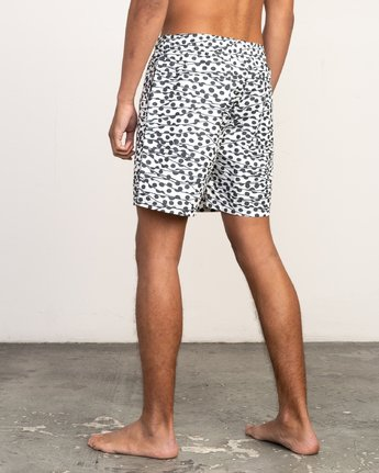 "3 Tom Gerrard Dots - 17"" Boardshorts for Men White N1VORARVP9 RVCA"