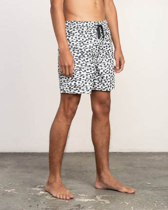 "6 Tom Gerrard Dots - 17"" Boardshorts for Men White N1VORARVP9 RVCA"