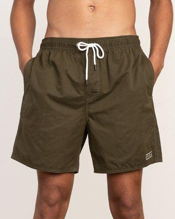 7 Tom Gerrard Elastic - Short for Men Verde N1VORERVP9 RVCA