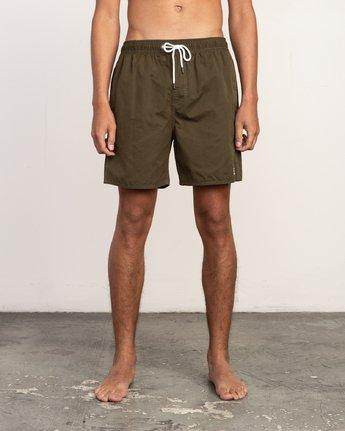 1 Tom Gerrard Elastic - Short for Men Verde N1VORERVP9 RVCA