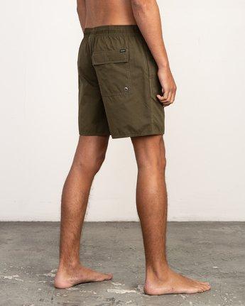 5 Tom Gerrard Elastic - Short for Men Verde N1VORERVP9 RVCA
