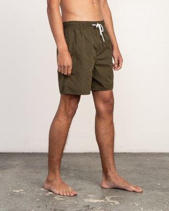 6 Tom Gerrard Elastic - Short for Men Verde N1VORERVP9 RVCA