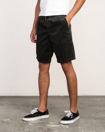 "2 Americana Corduroy Elastic - 19"" Short for Men  N1WKRBRVP9 RVCA"