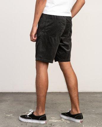 "3 Americana Corduroy Elastic - 19"" Short for Men  N1WKRBRVP9 RVCA"