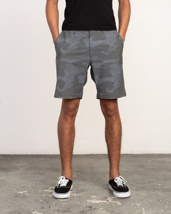1 All Time Coastal Print Hybrid - Short for Men  N1WKRHRVP9 RVCA