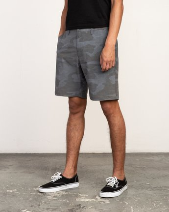 2 All Time Coastal Print Hybrid - Short for Men  N1WKRHRVP9 RVCA
